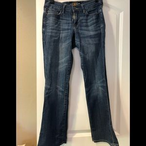 Lucky Brand Sweet'N Low jeans sz 2 ankle/short EUC